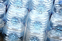 Rows of plastic bottles Stock Photography