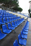 Rows of plastic seating Stock Images