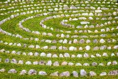 Rows of rocks Stock Image
