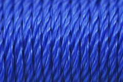 Rows of rope close up Royalty Free Stock Photos