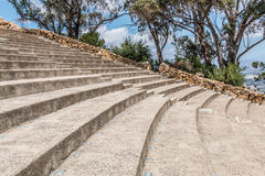Rows of Seating and Stairs at Mt. Helix Park Stock Photography