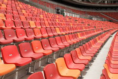 Rows of seats Stock Image