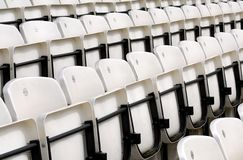 Rows of seats Royalty Free Stock Photography