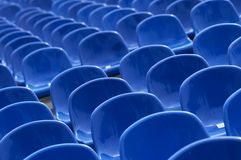 Rows of seats Royalty Free Stock Images