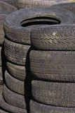 Rows of stacked tyres (4) Stock Photography
