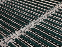 Rows of Stadium Seats Royalty Free Stock Images
