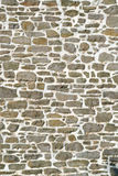 Rows of Stone. Stone wall background Stock Photography
