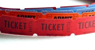 Rows of Tickets Stock Photos