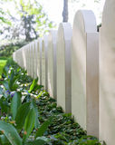 Rows of tombstones Royalty Free Stock Photography
