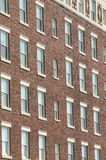 Rows of windows royalty free stock photos