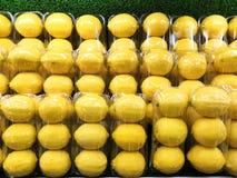 Yellow lemons royalty free stock image