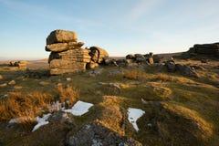 Rowtor Dartmoor. Obraz Stock