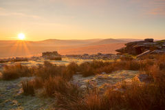 Rowtor Dartmoor Stock Photos