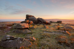 Rowtor Dartmoor Royalty Free Stock Images