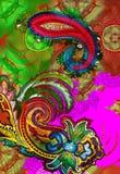 różowy bombay kawiarni Zdjęcia Royalty Free