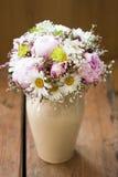 różowy bukiet ślub Fotografia Royalty Free