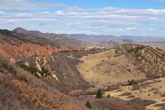 Roxborough delstatspark, Colorado Royaltyfri Bild