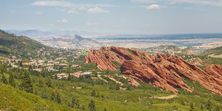 Roxborough-Nationalpark nahe Denver Lizenzfreie Stockfotografie