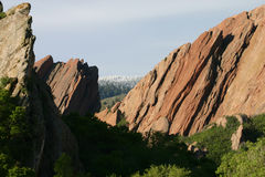 Roxborough in spring Stock Photo
