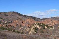 Roxborough stanu park, Kolorado Fotografia Royalty Free