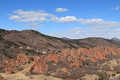 Roxborough stanu park, Kolorado Zdjęcia Royalty Free