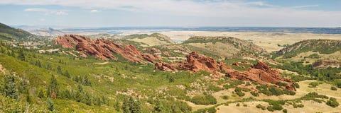 Roxborough State Park Panorama Stock Photo
