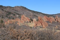 Roxborough State Park, Colorado. Roxborough State Park is a state park of Colorado, United States, known for dramatic red sandstone formations. The park is Royalty Free Stock Photos