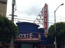 ` Roxie Theater original e histórica de s de San Francisco, 2 fotografia de stock