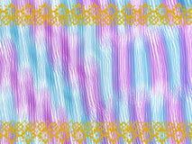 Roxo azul étnico Fotos de Stock