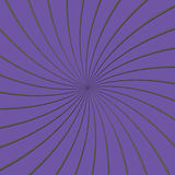 roxo 3D e Grey Thin Striped Circle Pinwheel Imagens de Stock Royalty Free