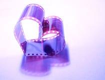 Roxo do coração Imagens de Stock