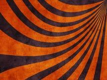 Roxo retro da textura do grunge com laranja imagens de stock