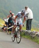 骑自行车者杰里米・ roy 图库摄影