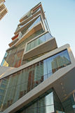 Roy and Diana Vagelos Education Center, CUMC, view from below
