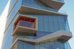 Roy e Diana Vagelos Education Center, CUMC, detalhes da fachada Fotografia de Stock Royalty Free