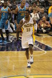 Roy Hibbert Indiana Pacers Running Down Court Stock Photography