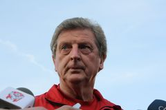 Roy Hodgson. English football player and coach. Currently is the head coach of the England football team Stock Photo