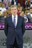 Roy Hodgson - van het de voetbalteam van Engeland de hoofdbus Stock Afbeeldingen