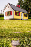 Roy Lichtenstein Optical Illusion House Imagem de Stock