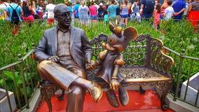 ROY O Recepción de Disney y de Minnie Mouse usted al reino mágico Imagen de archivo libre de regalías
