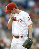 Roy Oswalt. Pitcher, Philadelphia Phillies Royalty Free Stock Images