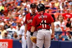 Roy Oswalt and Brad Ausmus Houston Astros Stock Photography