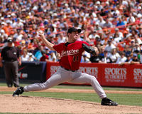 Roy Oswalt, Houston Astros-Pitcher Stockfotografie