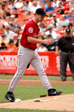 Roy Oswalt takes the mound. Stock Photography