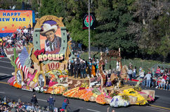 Roy Rogers Float Rose Bowl Parade Lizenzfreie Stockbilder