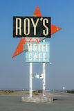 Roy's Cafe Neon Sign Royalty Free Stock Photography
