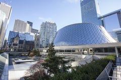 Roy Thompson Hall i Toronto Fotografering för Bildbyråer