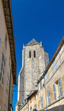 The Royal Abbey Notre-Dame of Celles-sur-Belle in France Royalty Free Stock Images