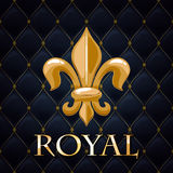 Royal abstract quilted background Royalty Free Stock Images
