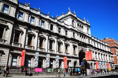 Royal Academy of Arts. London, United Kingdom, April 13, 2014 : The Royal Academy of Arts  is an arts institution based at Burlington House on Piccadilly. The Stock Image